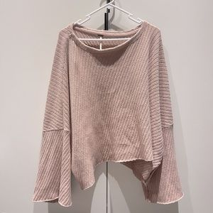 Free people pink sweater/jumper